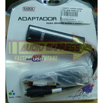 Adaptador Audio/video Dig Usb Para Pc O Laptop 115880