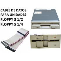 Cable De Datos Para Floppy 3 1/2, 5 1/4