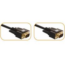 Cable Vga Extension Para Monitor De 15 Mts Chapa De Oro