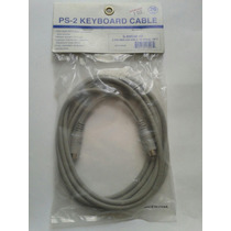 Cable Extencion Mause Teclado Cmaras 6 Pin Mini Din 3 Metros