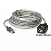 Cable Extension Activa Usb 2.0 De Alta Velocidad 5m 9779