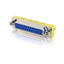 C2g / Cables To Go 02,774 Db25 F / F Mini Cambiador De Géner
