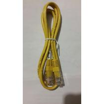 Cable Ethernet Utp Rj45 Color Amarillo
