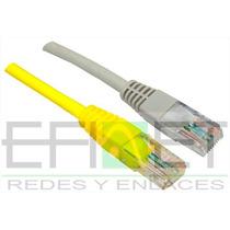 Efi-cautp530 Cable Ponchado Utp Cat 5e, 30 Mt