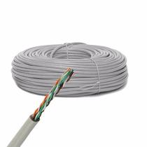 Bobina Cable Utp Cat-5e Cca Color Gris Bobina 305 Metros