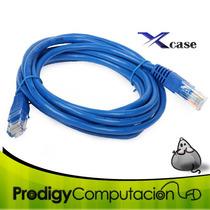 Cable De Red Cat 6 Ponchado Y Vulcanizado 1.8 Metros Nuevo