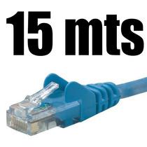 Cable De Red Utp 15 Metros Categoria 5e Para Pc Laptop Xbox