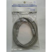 Cable Extencion Mause Teclado Cmaras 6 Pin Mini Din 3 Metros