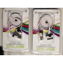Cable Usb Cargador Y Transmisor De Datos Con Entrada Para Ip