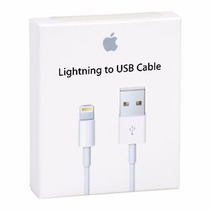 Cable Apple Lightning 1m Usb Para Iphone Ipad En Caja