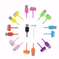 Mayoreo Cable Varios Colores Iphone Ipod 4 30 Pines Nuevos