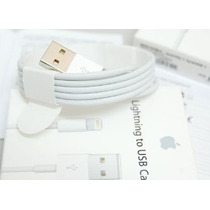 Cable Original Datos Lightning Apple Iphone 5, 6 Ipad Air,