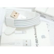 Cargador 5v Y Cable Original Datos Lightning Apple Iphone