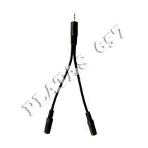 Adaptador Para Conectar 2 Audifonos Plug 3.5 Mm Mp3/mp4/ipho