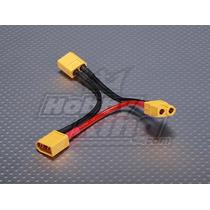 Cable Xt60 Conectar Baterias En Serie Drone