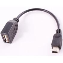 Cable Otg Mini Usb - Usb Hembra Para Tablets/celulares