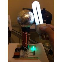 Bobina De Tesla Proyecto De Ciencias Electronica,sencilla 9v