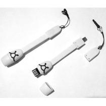 Cable 3 En 1 Carga Transfiere Y Adaptador Microsd P/ Samsung