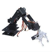 Brazo Robotico Robot Pinza Piezas De Ensamble 6gdl Mg995