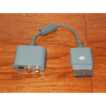 Adaptador De Audio Para Xbox 360 Rca Y Salida Optica 5.1