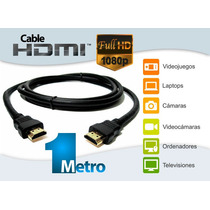 Cable Hdmi Full Hd, Transmisión De Audio Y Video, 1080p