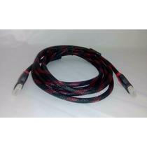 Cable Hdmi A Hdmi Blindado 2.70 Mts Uso Rudo H57