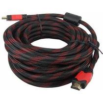 Cable Hdmi 20 Metros Full Hd 1080p Tv Lcd Led Xbox 360 Lap