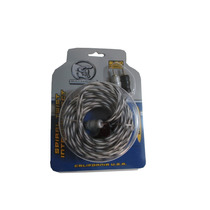 Cable Audio Rca 1.82 M Linea Espiral Bullz Audio Bstp6