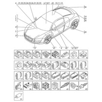 Jetta Golf Audi Arnes Cualquiera Original