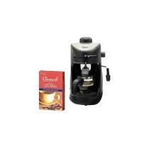 Máquina Para Hacer 4 Tazas De Espresso Y Cappuccino