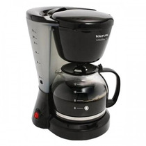 Cafetera Coffeemax 12 Tazas Taurus Negra