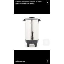 Cafetera Euroline Urna De 30 Tazas