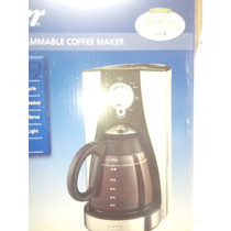 Cafetera Programable De 12 Tazas Oster