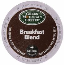 Green Mountain Coffee Breakfast Blend Keurig K-cups 72 Count