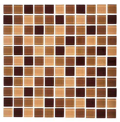 Azulejos Baño Tipo Mosaico:Caja 22 Pzs Azulejo Mosaico Veneciano Cocina O Baños Cafe – $ 1,760