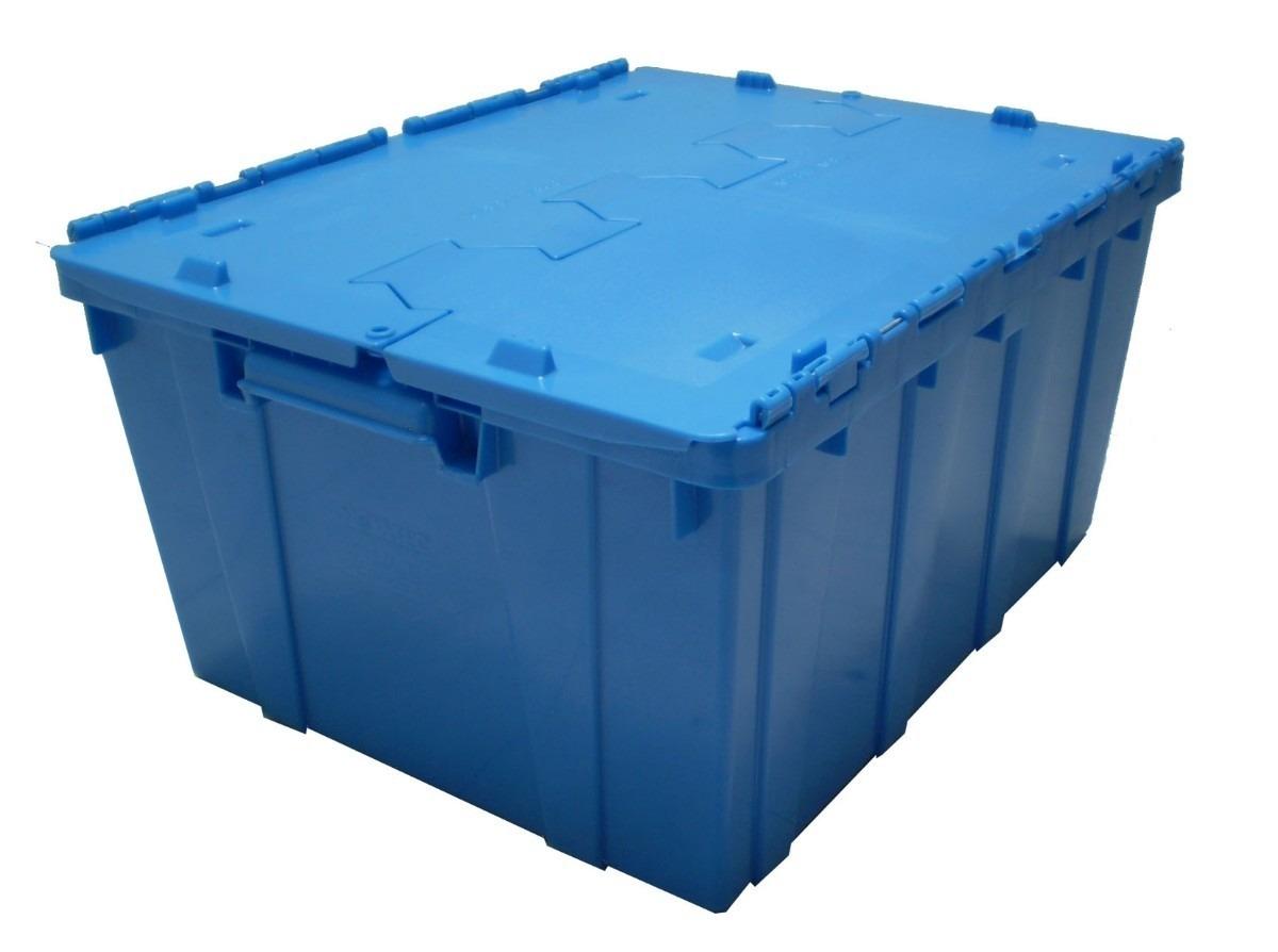 Caja con tapa bisagra plastico en mercadolibre - Caja plastico con tapa ...