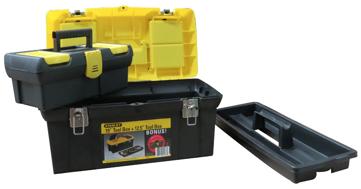 Caja de herramientas de 19 y 13 combo stanley mod 60 625 - Caja herramientas stanley ...