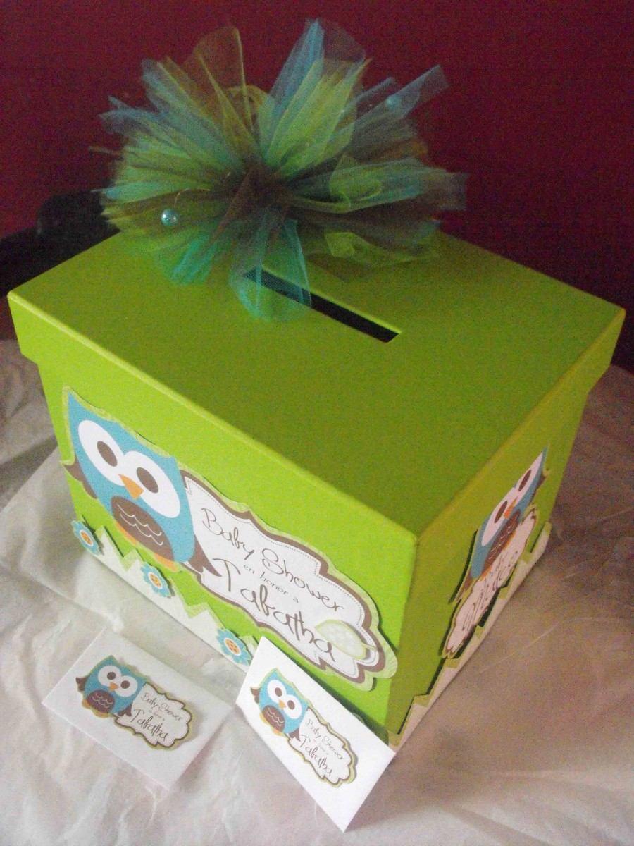Caja Para Sobres En Tu Evento Incluye 30 Sobres Baby Shower - $ 250.00