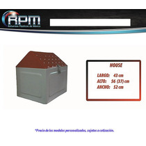 Caja Para Moto Reparto Mod House - Cajas Para Motos