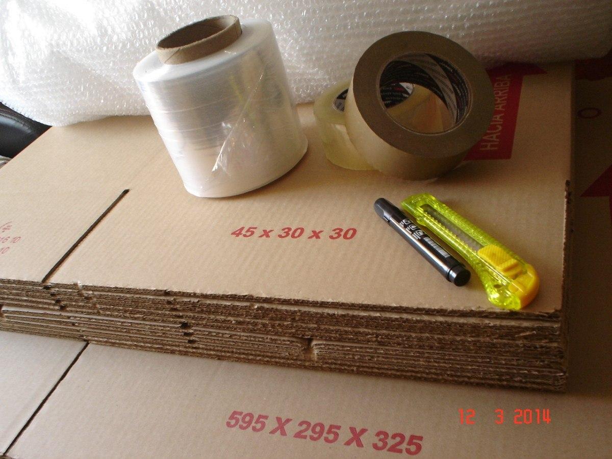 Cajas de carton baratas para mudanzas embalaje portes y for Cajas de carton para mudanzas