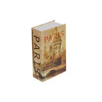 Caja Fuerte Forma De Libro Paris Y Lata De Segurida