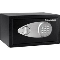 Caja De Seguridad ¿sentrysafe Negro