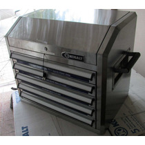 Caja/baúl De Herramientas De Acero Inox. Kobalt