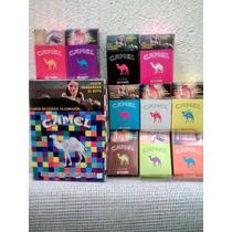 Coleccion Cajetillas Cigarros Camel Vacias
