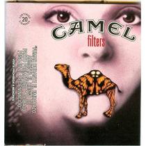 Cubre Cajetilla Camel Serie Cine 2002 El Silencio De Los Ino