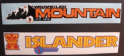 Calcomania Sticker Jeep Wrangler Nuevo