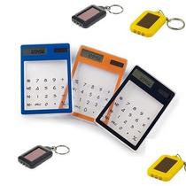 Calculadora Y Llavero Lampara Solar De Leds + Regalo