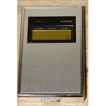 Calculadora Vintage Casio Mq-5 Reloj Alarma Timer Hm4