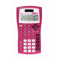 Calculadora Científica Texas Instruments Ti-30x Iis Rosa