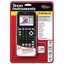 Texas Instruments Ti-84 Plus Ce Calculadora Gráfica Negro